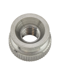 THUMB NUT, M6-1 X 9mm, 13mm HEAD DIA, SS