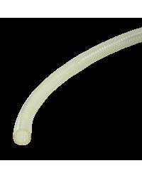 TUBING, 3/4in OD X 1/2in ID, CLEAR, BRAID